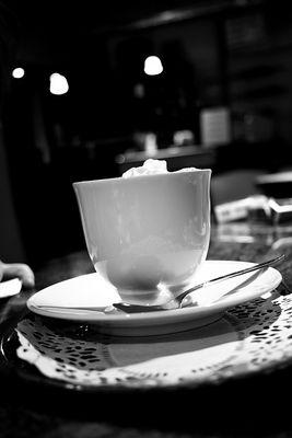 Milch Kaffe Schaum ... Bitte!