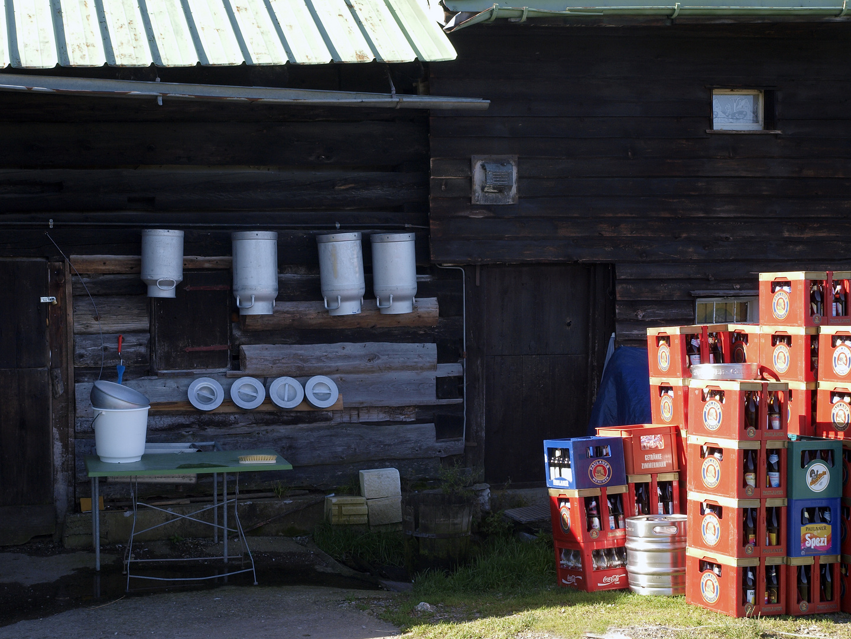 Milch oder doch lieber Bier?