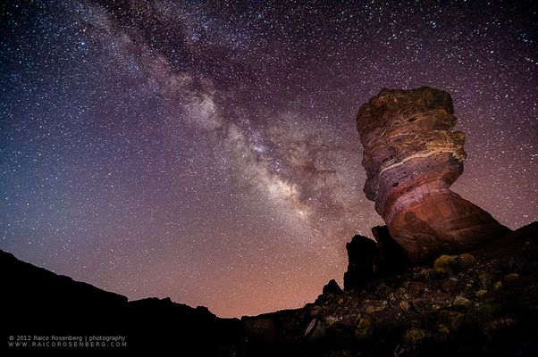 Milchstrasse am Teide
