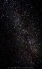 Milchstraße über der Morgensternhöhe in Ansprung