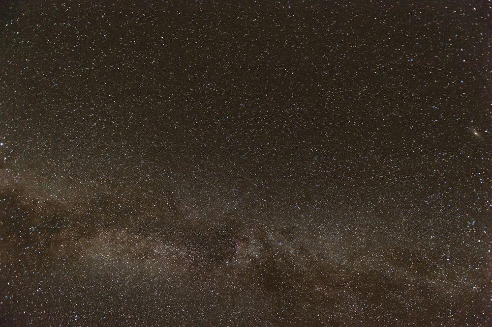 Milchstraße über Terlingua