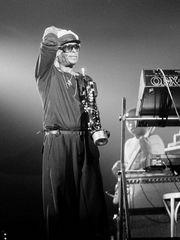 Miles Davis am 7.7.1984 in Wiesen