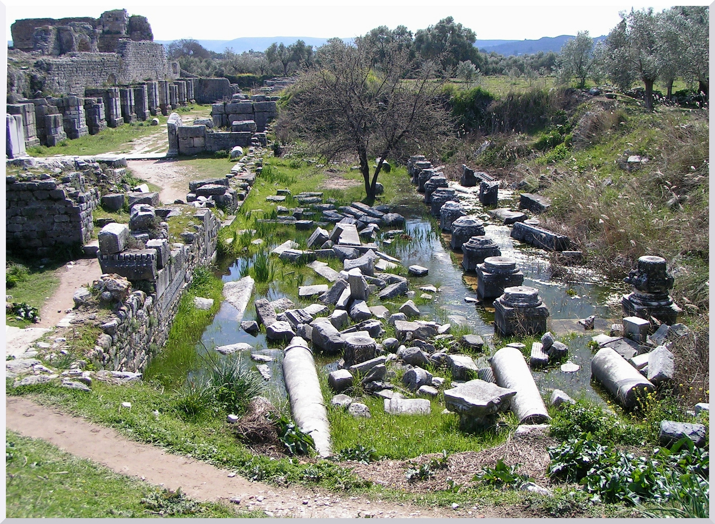 Milet, Faustina Thermen