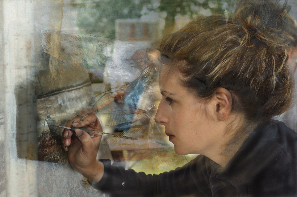 Émilie, artiste peintre sur l'Ile de RÉ …