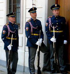 Militari a Praga