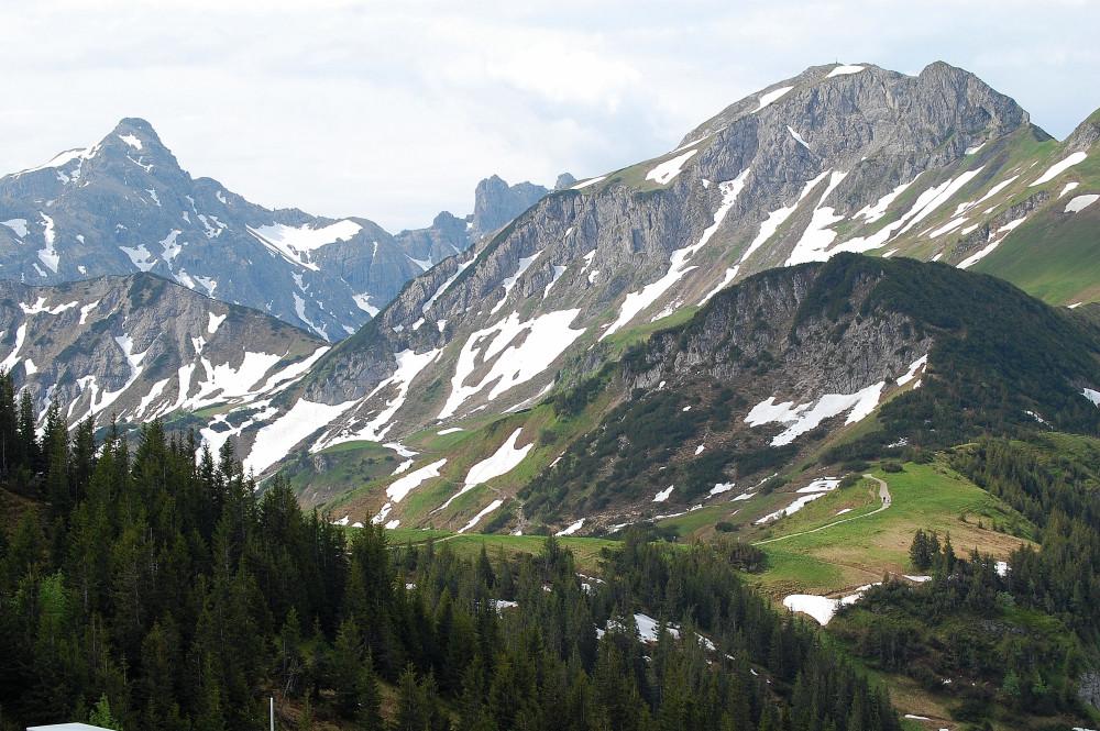 Milka-Landschaft