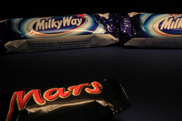 Milky Way as seen from Mars