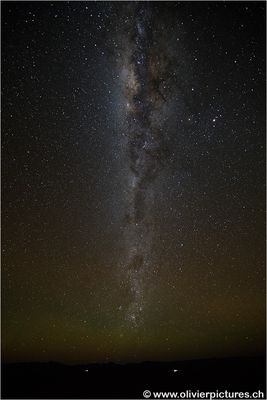 Milky Way over Namibia