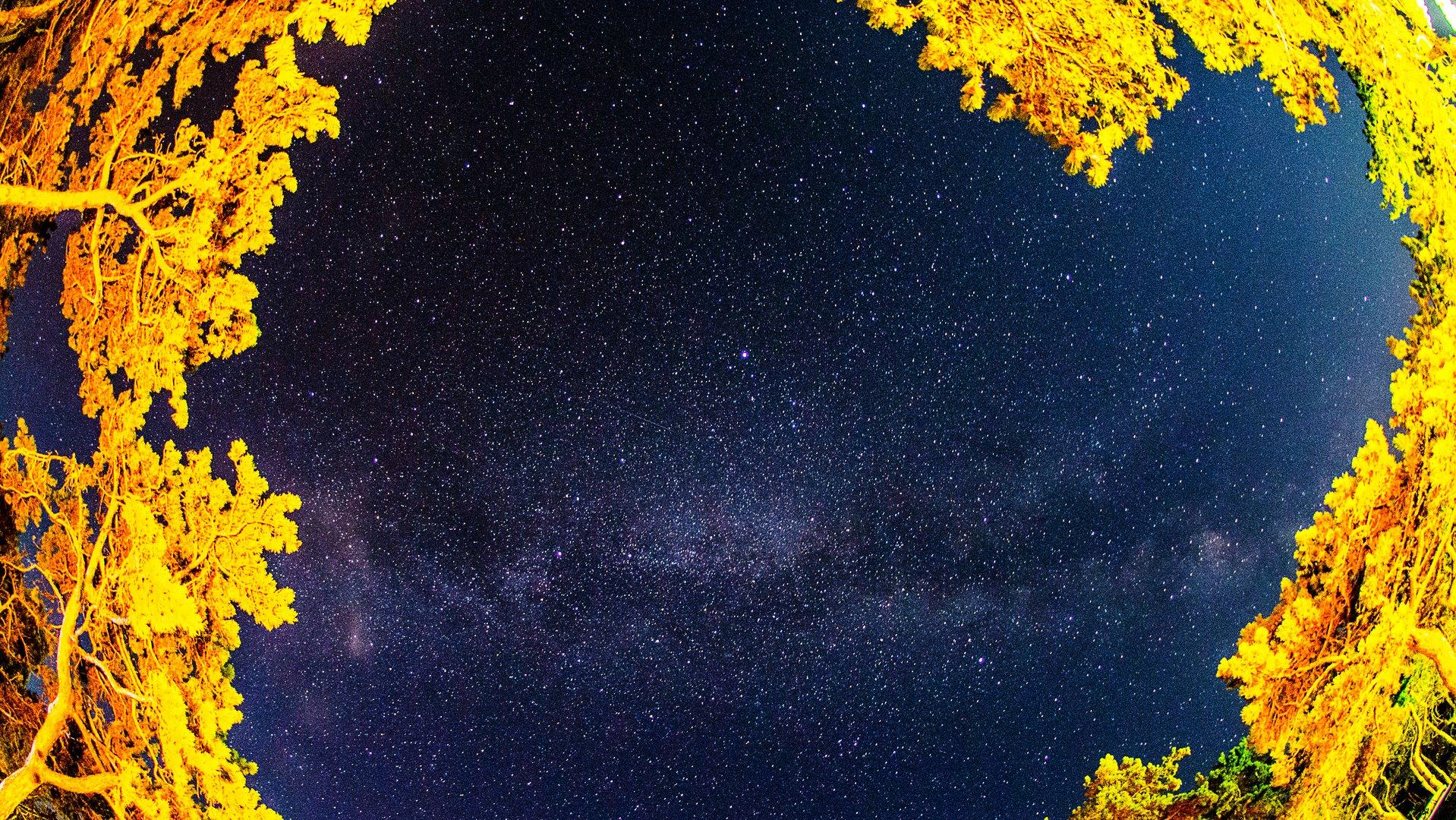 Milkyway above Croatia
