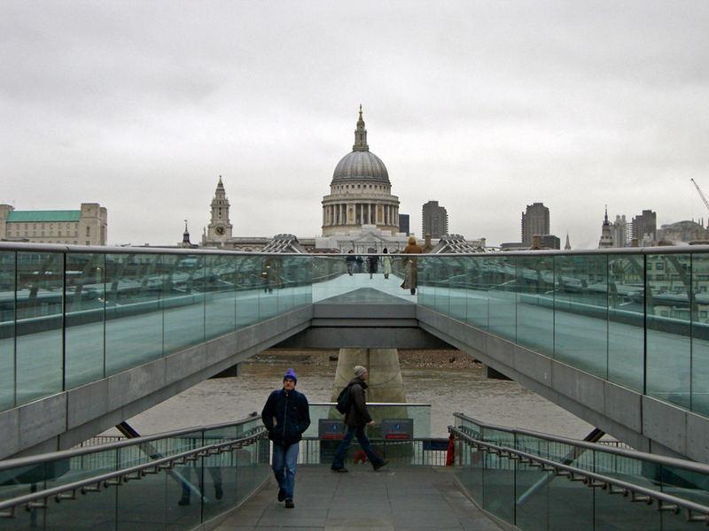 Millenium Bridge and St. Paul's