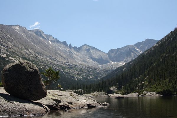 Mills Lake (Rocky Mountain National Park)
