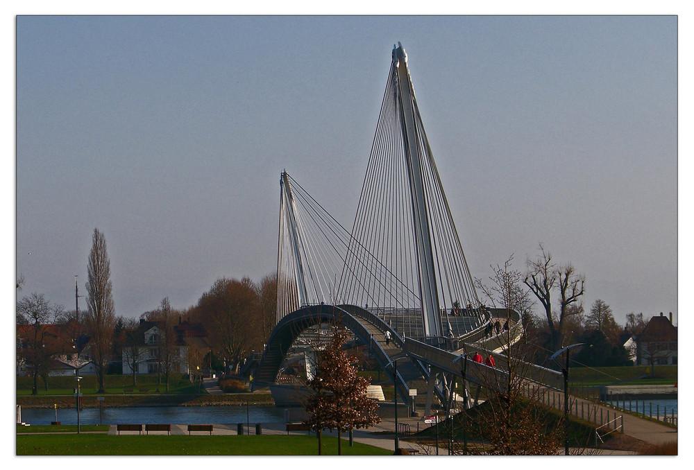 Mimrambrücke - Passerelle des deux Rives I