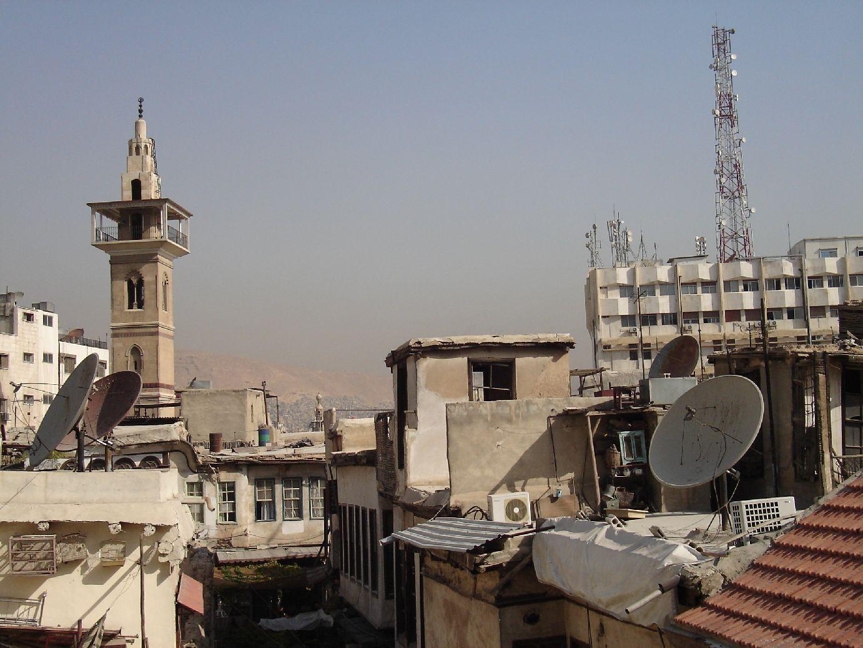 Minaret and Televison in Syria