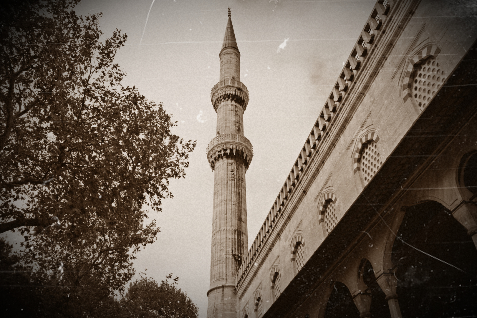 Minarett aus Istanbul