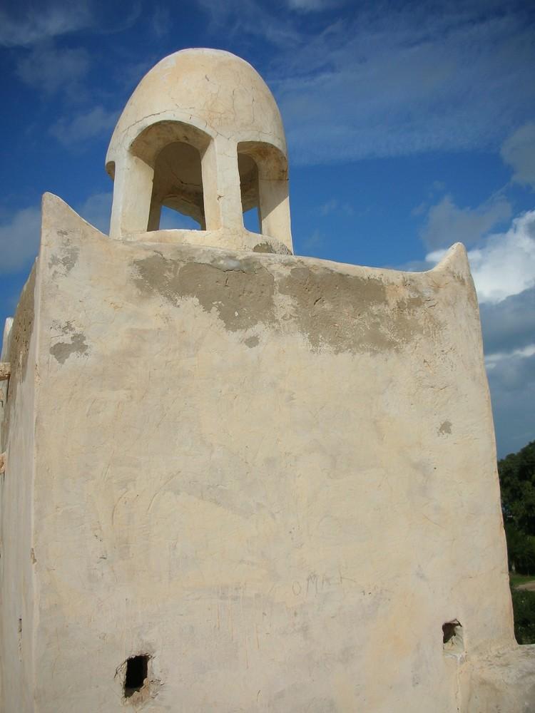 Minarett der alten Moschee