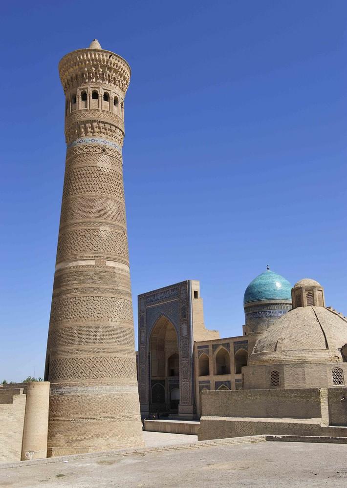 Minarett Kalon in Bukhara