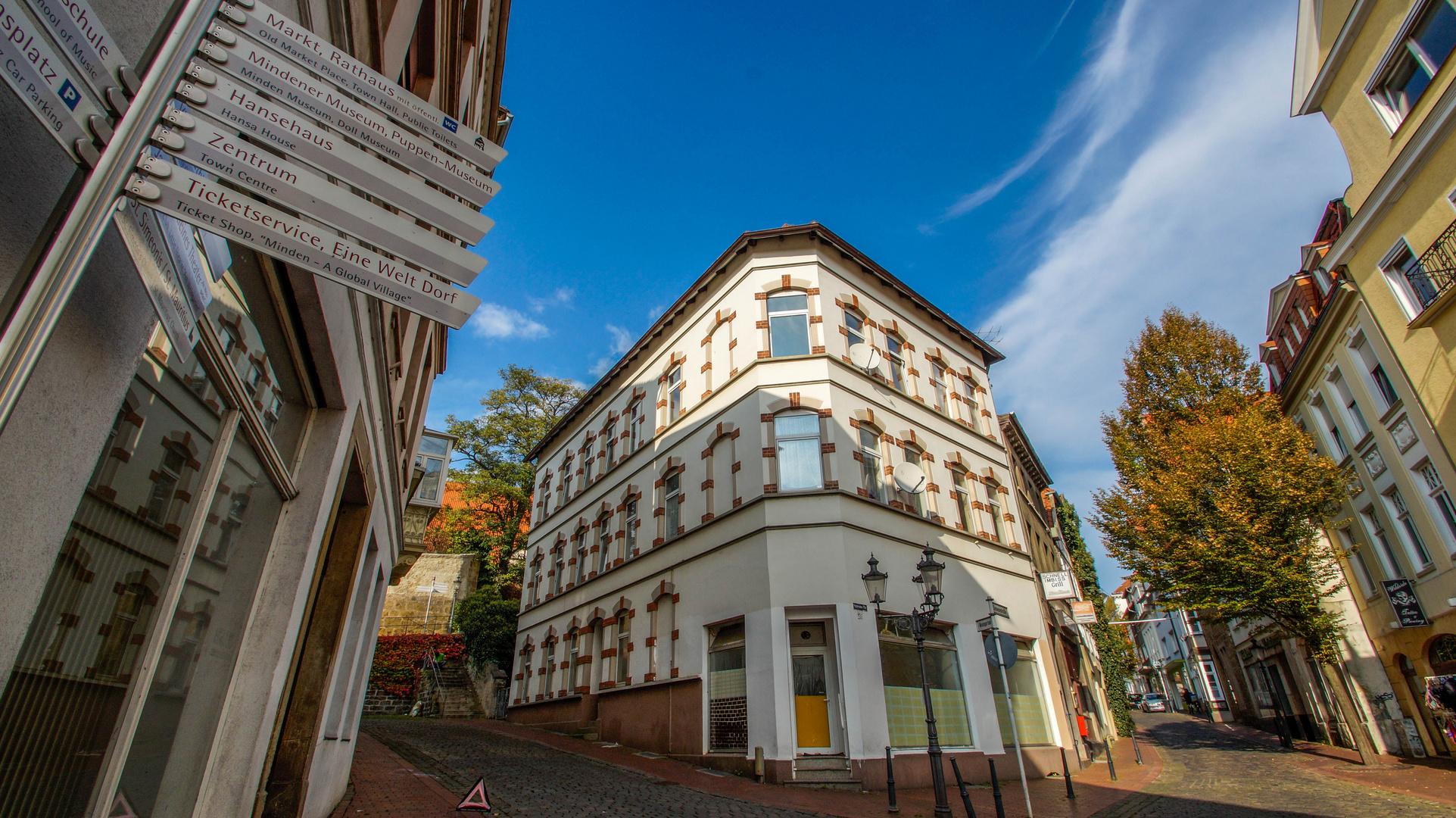 Minden - Altstadt - Oktober 2014