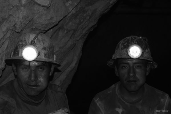 mine de cuivre en Bolivie