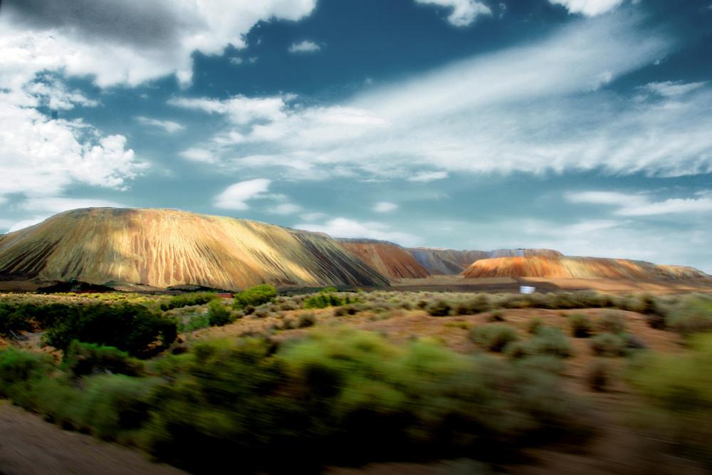 Mine de cuivre près de Salt Lake City