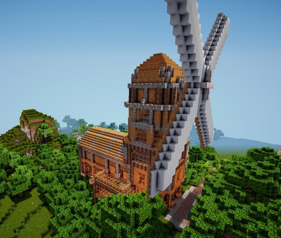 Minecraft Mühle