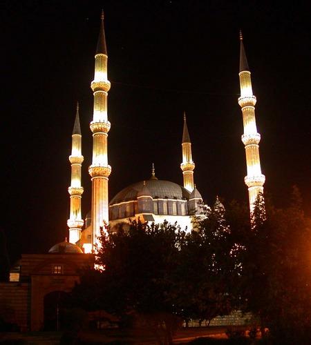 Minerett in Edirne