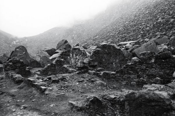 Miners Village in Glendalough