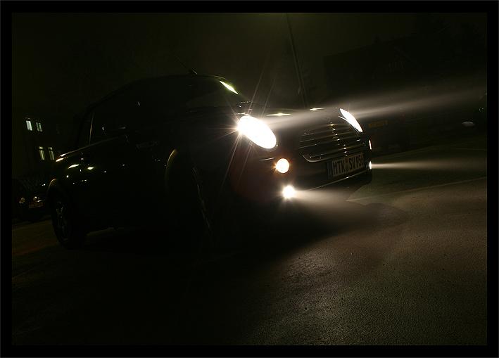 mini at night