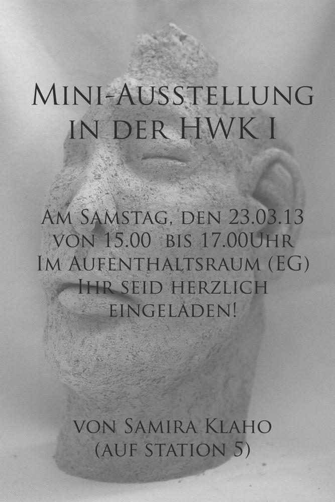 Mini-Ausstellung in...