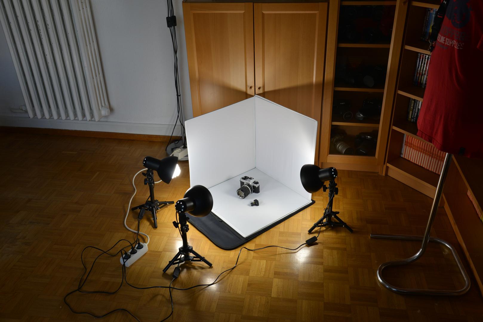 Mini Cam & Mini Fotostudio
