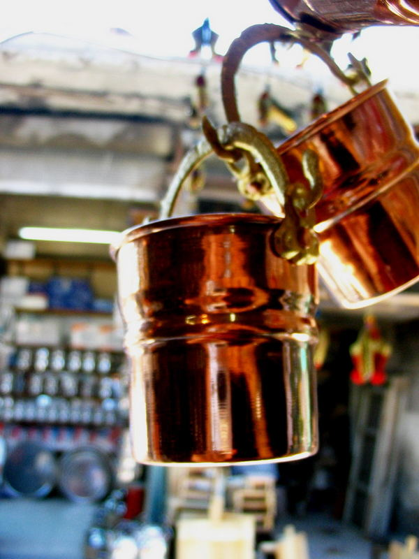 Mini Copper Buckets