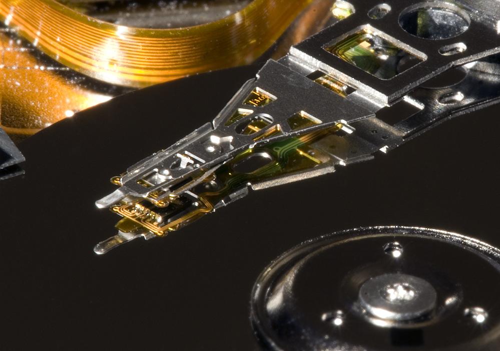 Mini-Festplatte