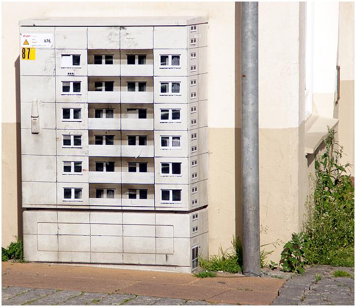 Mini Hochhaus gesichtet