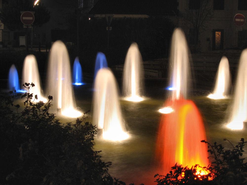 Mini jets d'eau à Mérignac