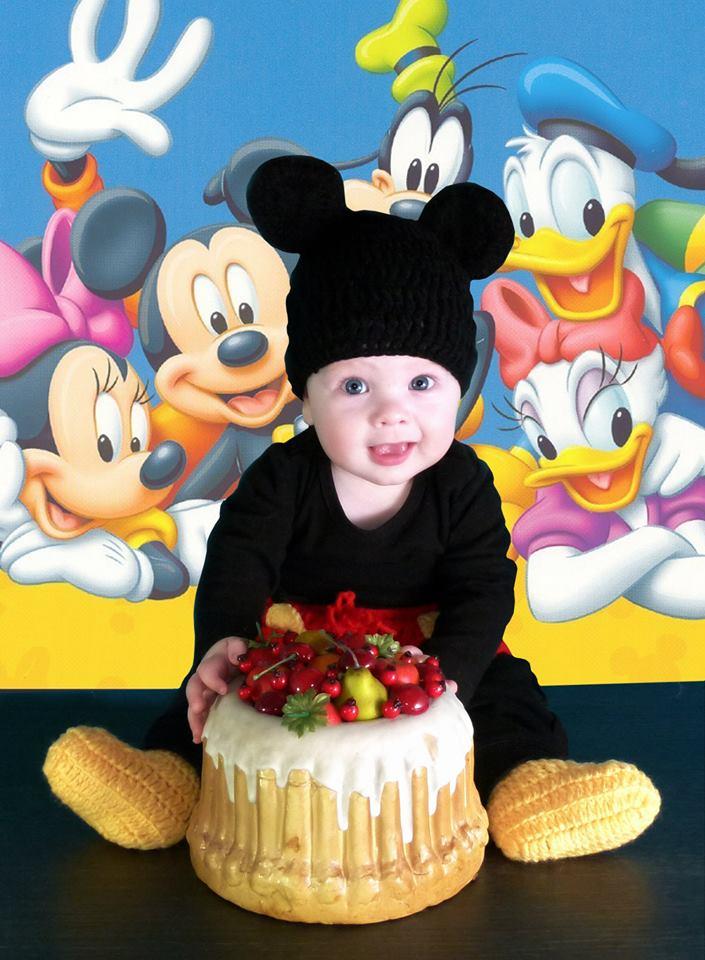 Mini Mouse Baby Foto