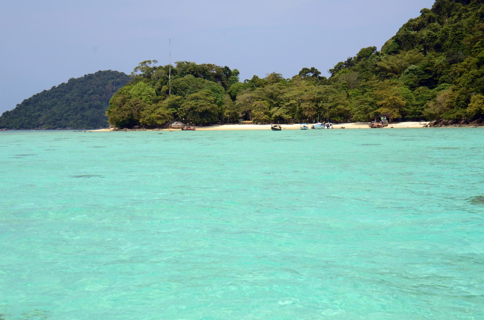 Mini-Strand auf Koh Surin