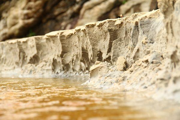 Miniatur Grand Canyon aus Sand