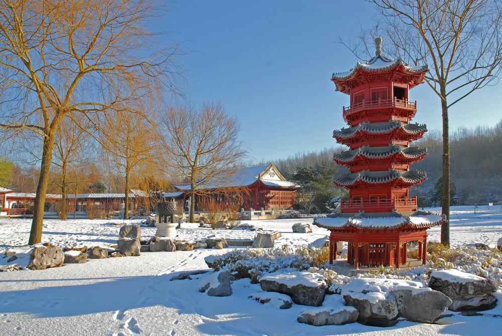 Miniatur im Schnee 2