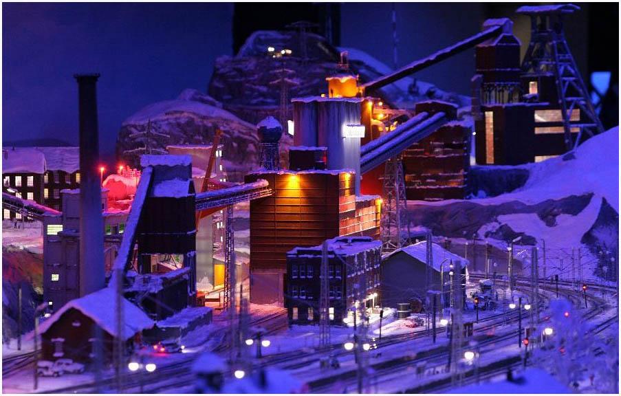 miniaturwunderland skandinavien nacht reload foto bild deutschland europe hamburg bilder. Black Bedroom Furniture Sets. Home Design Ideas