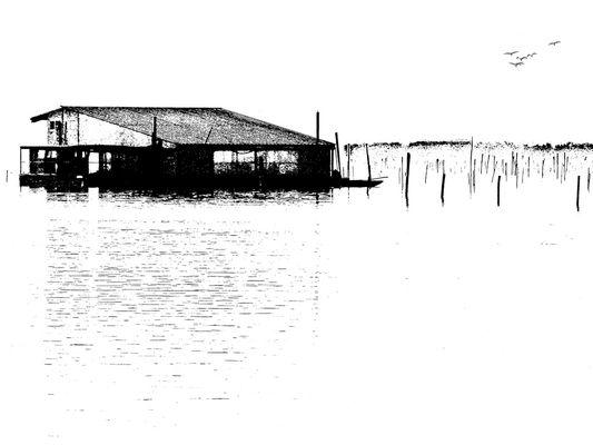 Minimalismo in laguna