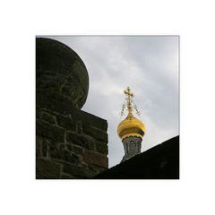 Minimalistischer Blick auf die Russische Kapelle