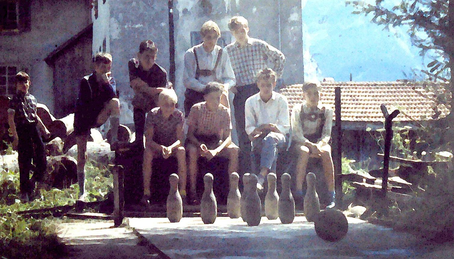 Ministrantenlager St. Josef in Engelberg 1958