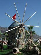 Miniwindmühle in Turgutreis..