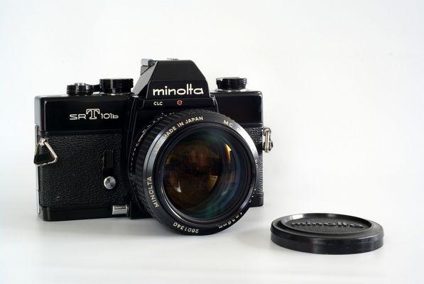 Minolta SR-T 101b mit Rokkor 1.2/58
