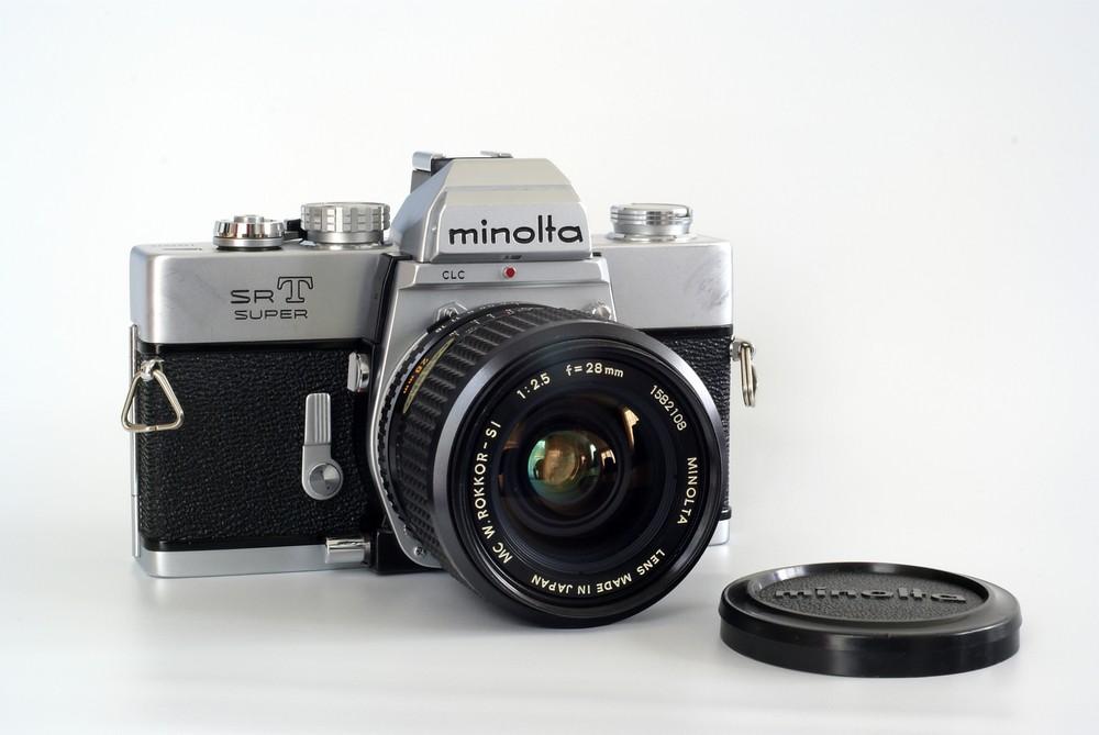 Minolta SR-T Super mit W. Rokkor 2.5/28