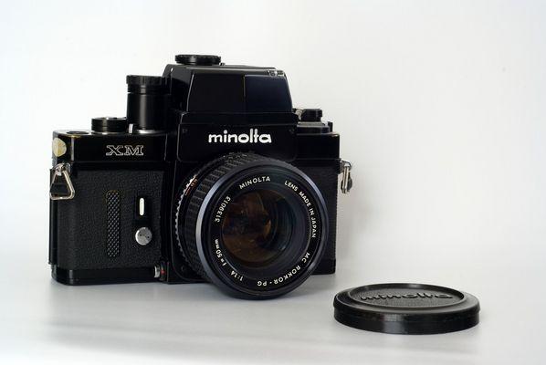 Minolta XM mit MC Rokkor PG 1.4/50