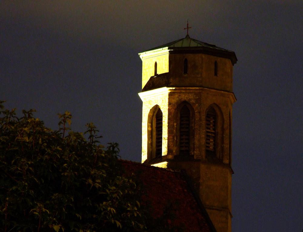 Minoritenkirche vom Burggarten aus gesehen