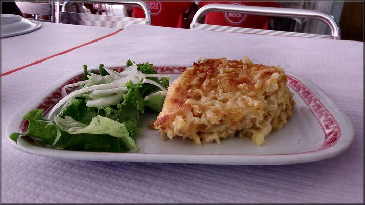 Mio pranzo....Bacalhau!