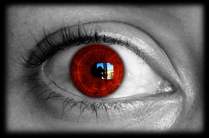mirada al rojo