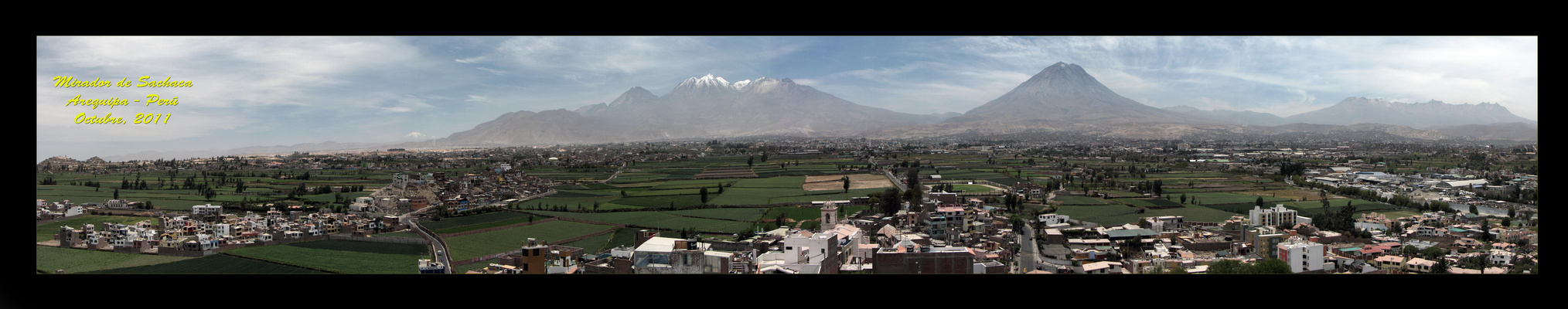 Mirador de Sachaca, Arequipa - Peru