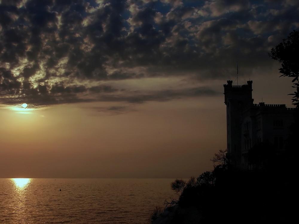 Miramare al tramonto